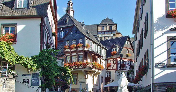 Beilstein an der Mosel - Blick in den mittelalterlichen Stadtkern