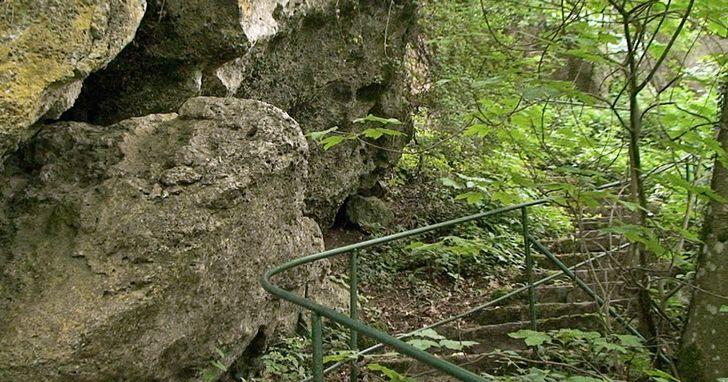 Kakushöhle – Weg um das Höhlensystem