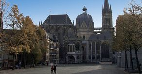 Aachen – vom Rathaus aud gesehen