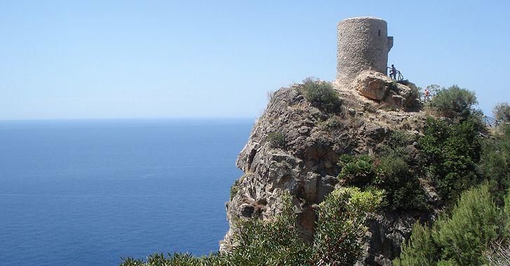Mallorca – Torre de Verger an der Westküste bei Banyalbufar