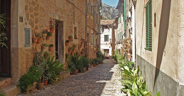 Mallorca - Gasse in Valldemossa